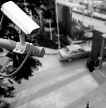 Видеонаблюдение на улице