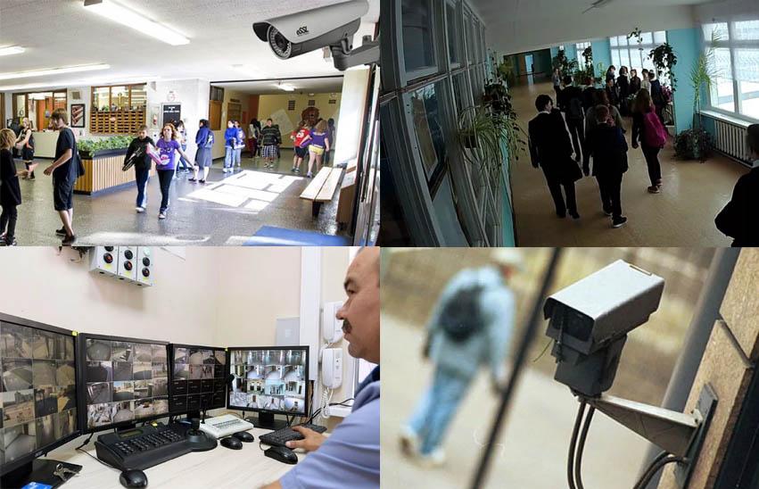 монтаж и установка систем видеонаблюдения в учебных заведениях, ВУЗах, детских садах